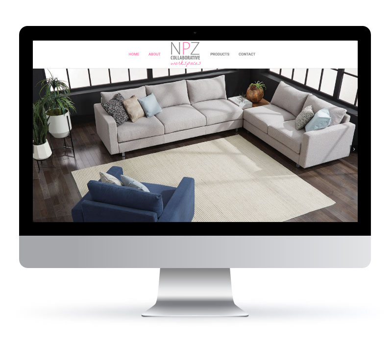 NPZ Collaborative Workspaces - Website created by Jessica Design. Graphic and Web services in Hamilton.